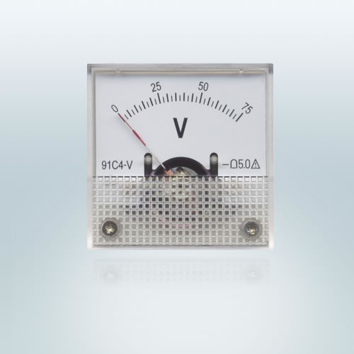 91 Moving Coil instrument DC Voltmeter
